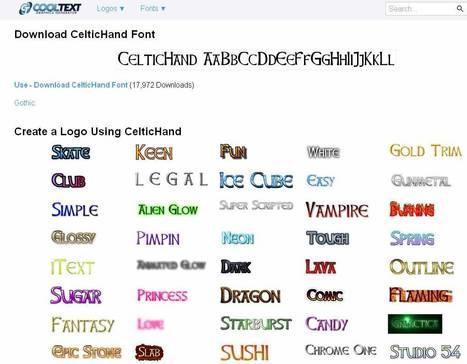 Crear logos de texto personalizados | Tic, Tac... y un poquito más | Scoop.it