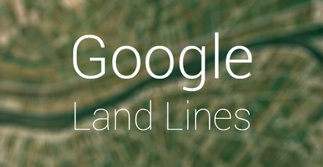 "Google's new experiment ""Land Lines"" turns your scribbles into mesmerizing satellite imagery 