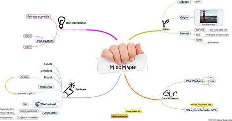 heuristiquement: Mes premières impressions sur MindMaple | Apprendre à apprendre | Scoop.it