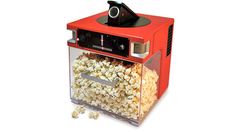 Voice-based popcorn cannon fires kernels into your mouth | Agoria's technology review | Scoop.it