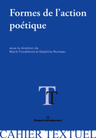 "(parution) ""Formes de l'action poétique"" 