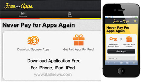 Review : Free My Apps (แจก app ฟรี) วิธีดาวน์โหลดแอพแท้แบบฟรีๆ Download App Free : ละเอียด | iTAllNews | Scoop.it
