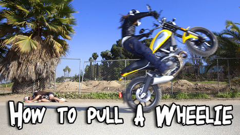 How to pull a Wheelie! | Ductalk Ducati News | Scoop.it