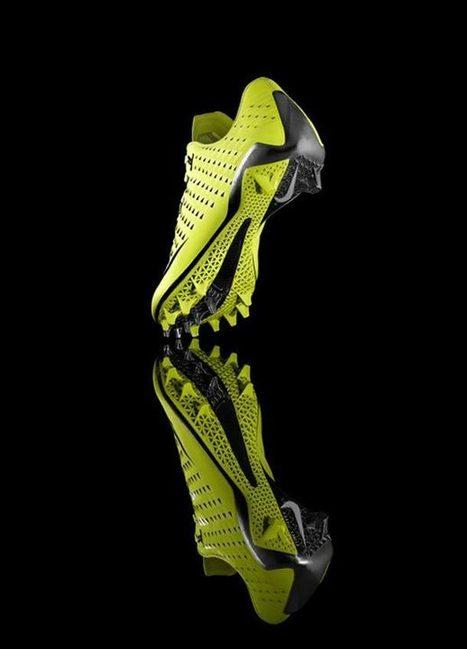 Nike se met à l'impression 3D | Actualités robots et humanoïdes | Scoop.it