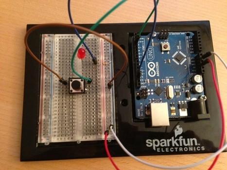 Arduino Tutorial for Complete Beginners: Using a Button   Arduino, Netduino, Rasperry Pi!   Scoop.it