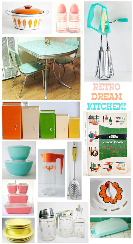 Oh So Lovely Vintage: Our retro dream kitchen! | Vintage Kitchens | Scoop.it