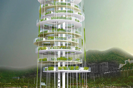 A Skyscraping, Vertical Farm Tower Concept | smart cities | Scoop.it