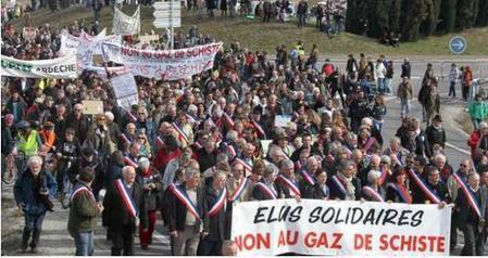 French Court May Return Total's Shale Gas Rights In The Ardeche, Protests Expected | FrenchNewsOnline | French News Headlines | Scoop.it