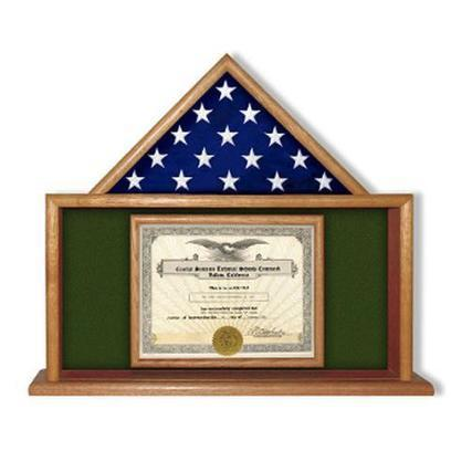 Army Flag Certificate Display Case Flag Case H