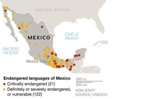 Sixty Languages at Risk of Extinction in Mexico—Can They Be Kept Alive? | Edison High - AP Human Geography | Scoop.it