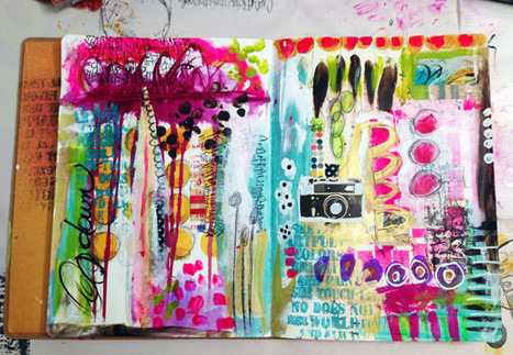 Art Journal Musical Chairs... - Roben-Marie Smith | Artifact Journals: Documenting the Artistic Process | Scoop.it