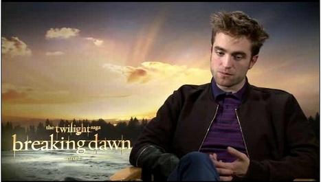 IMDb Original Interview: Robert Pattinson - The Twilight Saga: Breaking Dawn - Part 2  (Press Junket, LA) | Robert Pattinson Daily News, Photo, Video & Fan Art | Scoop.it