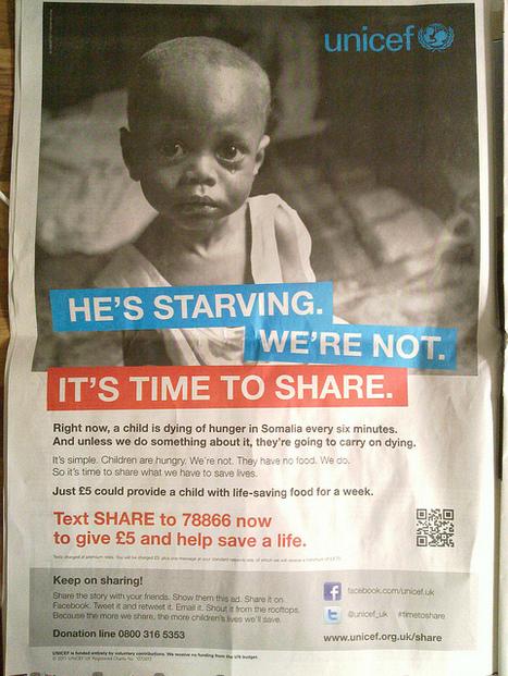 UNICEF Appeal QR Code | Digital fundraising | Scoop.it