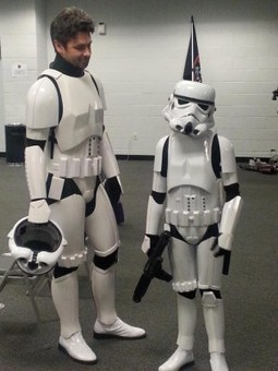 Aren't You A Little Short To Be A Stormtrooper? The Passing of the Armor to A Bullied Little Girl | Geek Therapy | Scoop.it