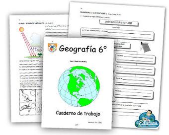RECURSOS PRIMARIA | Cuadernillo de actividades de Geografía para 6º de Primaria | GEOGRAFIA SOCIAL | Scoop.it