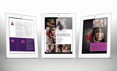 3x Tablet Portfolio Templates Bundle for Indesign | About Design | Scoop.it