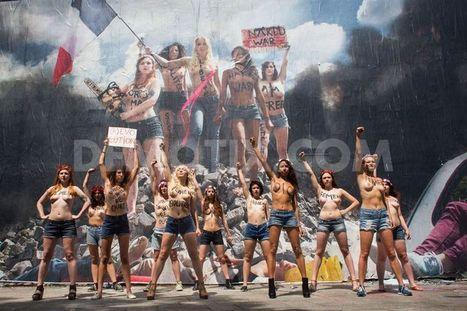 FEMEN fétent le 14 juillet... avec un collage de Combo | A Voice of Our Own | Scoop.it