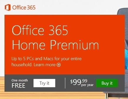 Microsoft's Office 365 Home Premium: What happens when subscriptions expire?   Cotés' Tech   Scoop.it