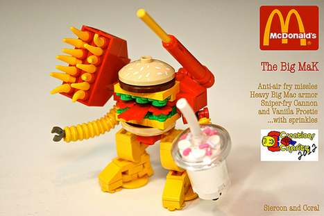 LEGO Big MaK Mech   All Geeks   Scoop.it
