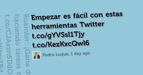 5 herramientas para proyectar tweets | Redes sociales en Educación | Scoop.it