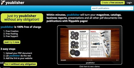 Publication Network - Youblisher.com - turn pages / flippable pdfs - pdf's zum umblättern | Teaching L2 Reading | Scoop.it