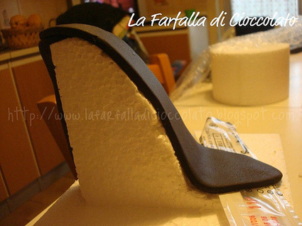 Con S Tacco Il Design Tutorial Scarpa Cake 8qgwApnUx