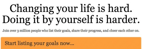 List your goals on 43 Things | Mental Health & Emotional Wellness | Scoop.it