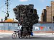Alain Delorme's Totems: Portrait Of Shanghai's Burdened Bikers   Xposed   Scoop.it
