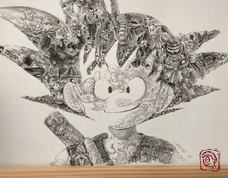 Cet artiste hong-kongais réalise un hommage époustouflant à Dragon Ball   Reg'Art Metis   Scoop.it