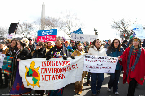 'Forward On Climate' Rally Draws est. 40,000 To D.C. - The Indegenious Resistance was historical. #IdleNoMore | IDLE NO MORE WISCONSIN | Scoop.it