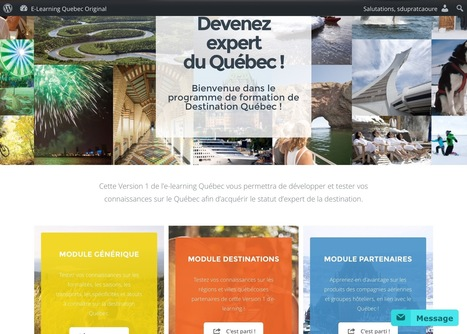 Du e-elearning pour former et fidéliser les prestataires touristiques | Etourisme.info | E-pedagogie, apprentissages en numérique | Scoop.it