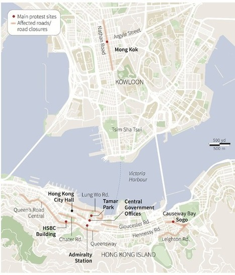 The Political Geography of Hong Kong's Protests | NGOs in Human Rights, Peace and Development | Scoop.it