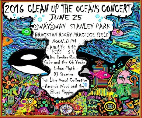 2016 Clean up the Oceans Concert. | Marine Litter | Scoop.it