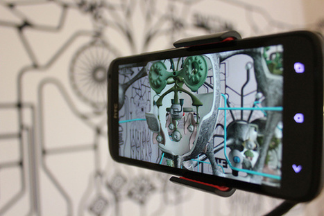 Hermaton: Enter the Grid Is An Augmented Reality Architectural Maze | The Creators Project | Augmented Reality News and Trends | Scoop.it
