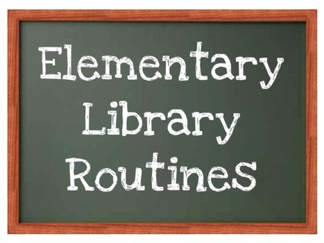 elementarylibraryroutines - home | Library Educational Resources | Scoop.it