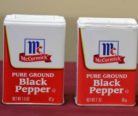 Watkins Sues McCormick Over Pepper, Makes Federal Case Out Of Grocery Shrink Ray | Psychology of Consumer Behaviour | Scoop.it