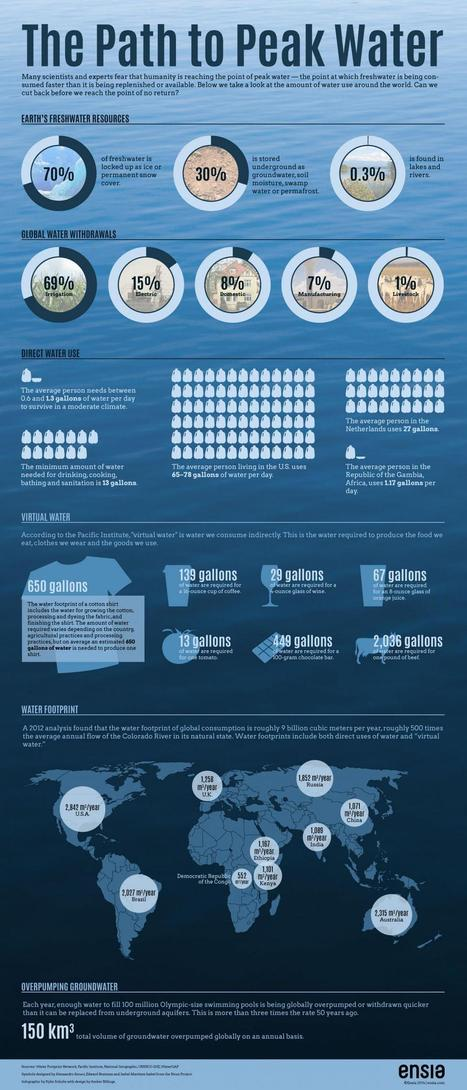 Infographic: Are We on the Path to Peak Water? | Sustain Our Earth | Scoop.it