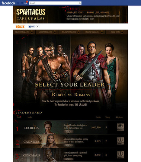 How STARZ is using social TV with 'Boss' and 'Spartacus' | Content Marketing | Branded Entertainment | Scoop.it