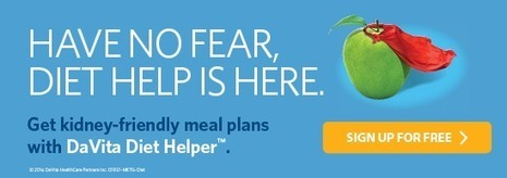 Healthy New Year's Checklist for People with Kidney Disease - DaVita | Renal Diet Meal and Menu Plan | Scoop.it