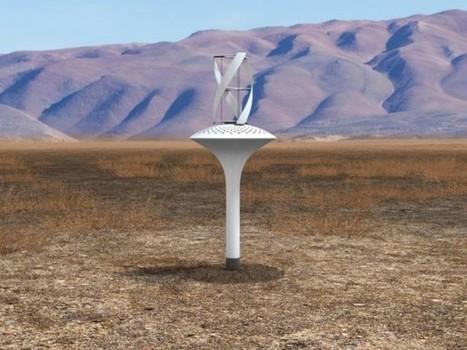 WaterSeer, une mini-éolienne qui crée de l'eau potable | Réhabilitations, Rénovations, Extensions & Ré-utilisations...! | Scoop.it