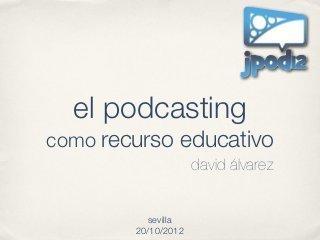 El Podcasting como Recurso Educativo | E-Learning, Social Media y TIC en pequeñas dosis. | recursos en la Red | Scoop.it