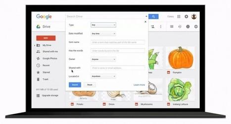 Google Drive añade recursos para encontrar archivos | Educacion, ecologia y TIC | Scoop.it