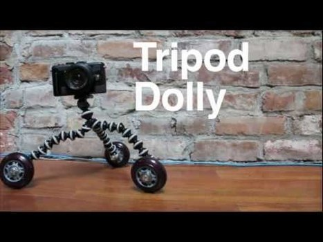 DIY Gorillapod Dolly | Photography Gear News | Video For Real Estate | Scoop.it