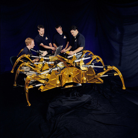 Spider Robots In Outer Space: Biomimicry, B Movie or Both?   Sustainable Futures   Scoop.it