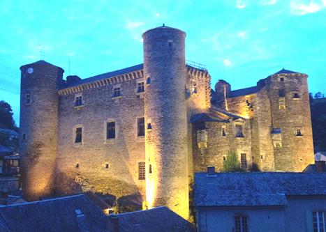 J'ai redécouvert le château de Coupiac | L'info tourisme en Aveyron | Scoop.it