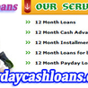 12 Month Payday Cash Loans