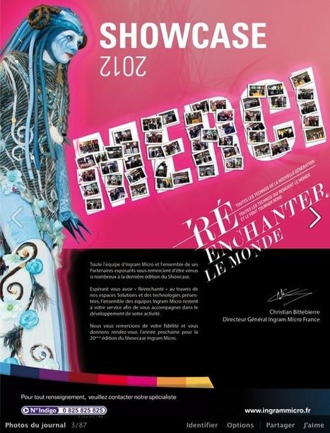 Merci de votre participation au Showcase 2012 ! | Direct News Ingram Micro France | Hyperconverged | Scoop.it