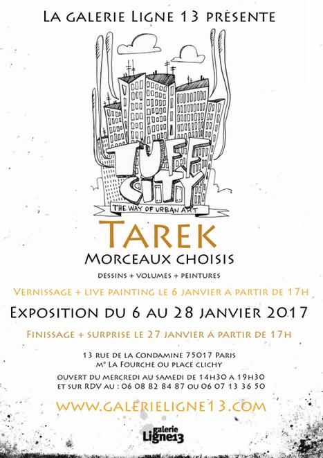 Exposition de Tarek à la galerie Ligne 13 | Tous les événements à ne pas manquer ! | Scoop.it