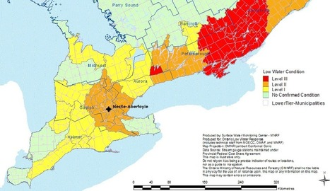 Nestle buys more groundwater as drought rages on in Southern Ontario | The Council of Canadians | Understanding Water | Scoop.it