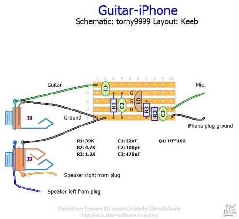 irig with diy impedance guitar matching cable playstation to usb wiring diagram #5